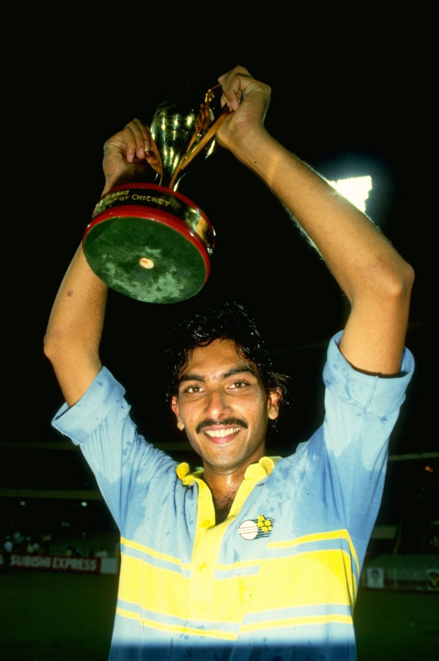 Champion of Champions at the World Championship of Cricket in 1985. Really now?