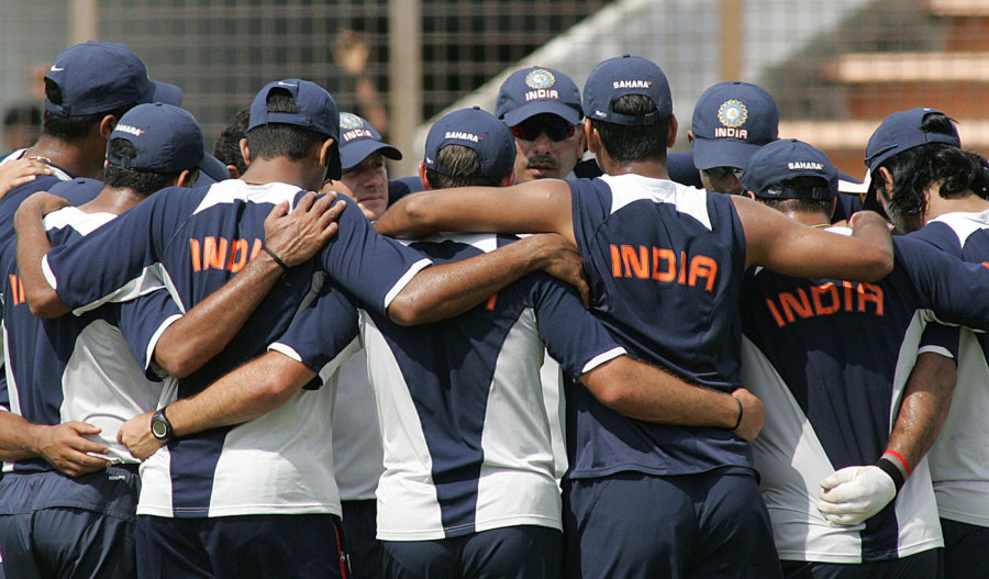 Shastri took over as cricket manager for a brief while after India hit a low following the 2007 World Cup