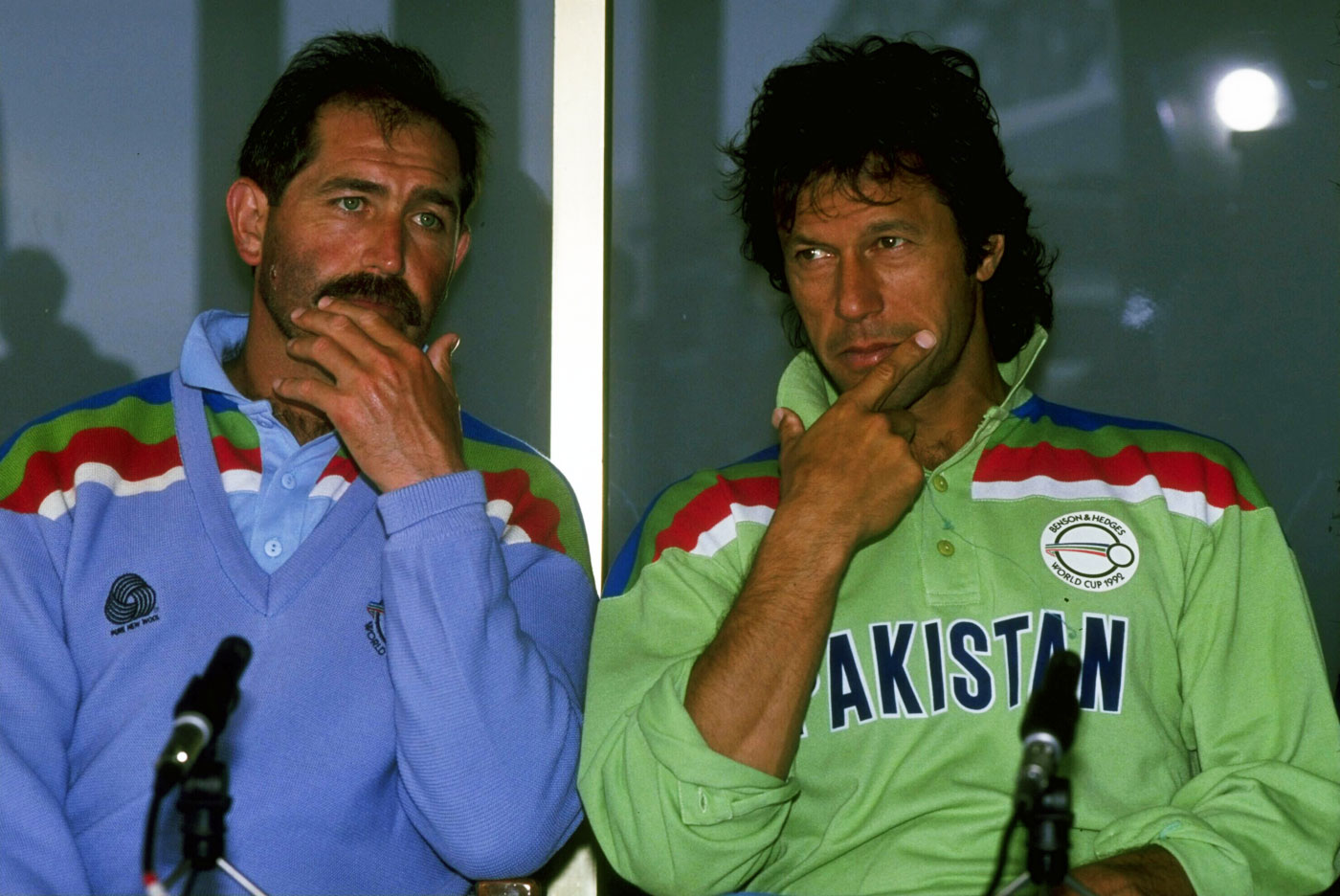 Life begins at 39: rival captains Graham Gooch and Imran Khan ahead of the final