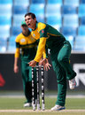 Yaseen Valli bowls, Pakistan v South Africa, Final, Under-19 World Cup, Dubai, March 1, 2014