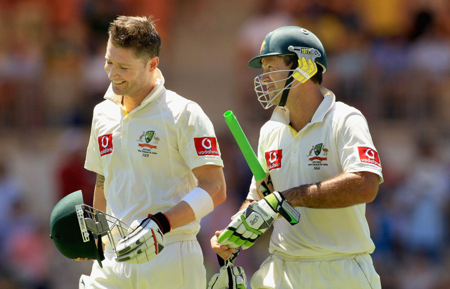 Bowlers never had it easy when Clarke and Ponting got together with Australia three down inside 30 overs
