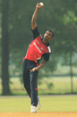 Selladore Vijayakumar finished with 4 for 38, Bermuda v Singapore, ICC WCL Division Three, Selangor, October 28, 2014