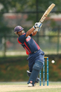 Subash Khakurel scored an unbeaten 49, Nepal v USA, ICC WCL Division Three, Kuala Lumpur, October 28, 2014