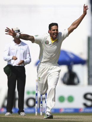 Mitchell Johnson claims top ICC awards