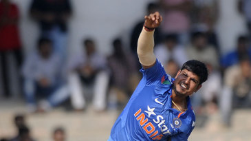 Legspinner Karn Sharma took important wickets