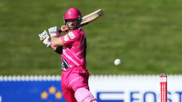 Travis Birt top scored with a 40-ball 44