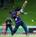 Colin de Grandhomme lashed 42 off 19, Auckland v Otago, Georgie Pie Super Smash, Hamilton, November 1, 2014