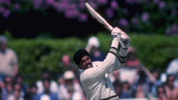 Kapil Dev on his way to 175 off 138