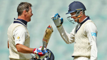 Peter Handscomb and Dan Christian shared a 206-run stand