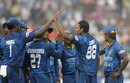 Suraj Randiv picked up 3 for 78, India v Sri Lanka, 1st ODI, Cuttack, November 2, 2014