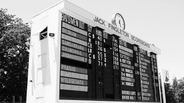 The Jack Fingleton manual scoreboard