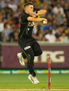 Cameron Boyce picked up 2 for 15, Australia v South Africa, 2nd T20, Melbourne, November 7, 2014
