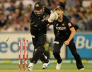Ben Dunk made two stumpings off Cameron Boyce, Australia v South Africa, 2nd T20, Melbourne, November 7, 2014