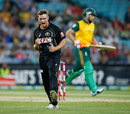 Cameron Boyce took the wicket of Rilee Rossouw, Australia v South Africa, 3rd Twenty20, Sydney, November 9, 2014