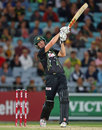 Cameron White has a swing at the ball, Australia v South Africa, 3rd Twenty20, Sydney, November 9, 2014