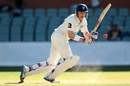 Scott Henry works the ball to leg during his maiden century, South Australia v New South Wales, Sheffield Shield, 2nd day, Adelaide, November 10, 2014
