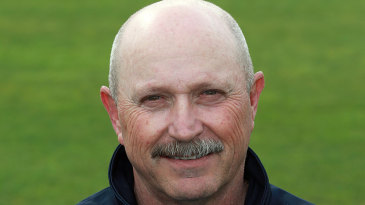 Somerset assistant and batting coach Dave Houghton
