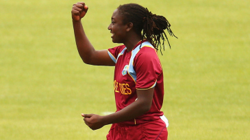 Stafanie Taylor picked up two wickets