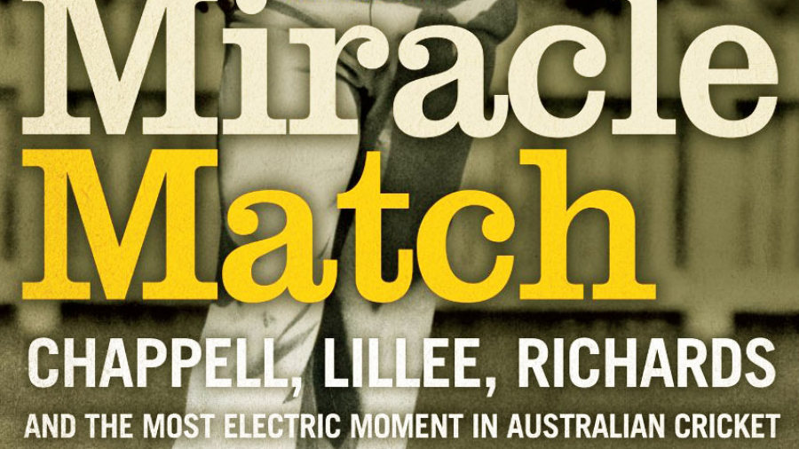 Cover image of Ian Brayshaw's <i>The Miracle Match</i>