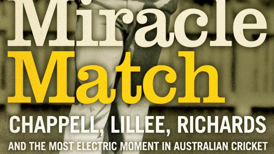 Cover image of Ian Brayshaw's <i>The Miracle Match</i>