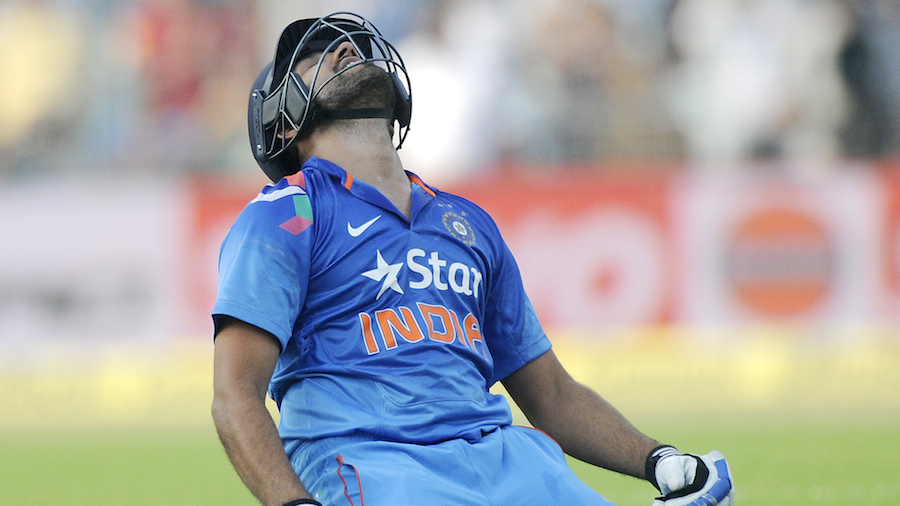 Rohit Sharma is relieved to be back in form in his comeback game