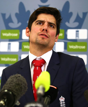A refreshed Alastair Cook was looking forward to the challenge in Sri Lanka, Lord's, November 14, 2014