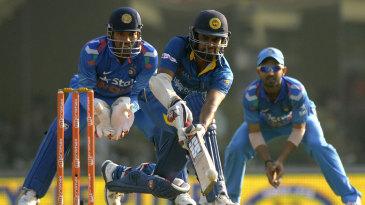 Lahiru Thirimanne scored 52 to aid Sri Lanka's recovery