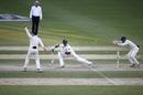 Taufeeq Umar was stumped for 16, Pakistan v New Zealand, 2nd Test, Dubai, 2nd day, November 18, 2014