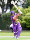 Neil Broom struck an unbeaten 96 off 59 balls, Otago v Canterbury, Georgie Pie Super Smash, Dunedin, November 20, 2014