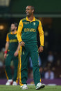 Robin Peterson picked up four wickets, Australia v South Africa, 5th ODI, Sydney, November 23, 2014
