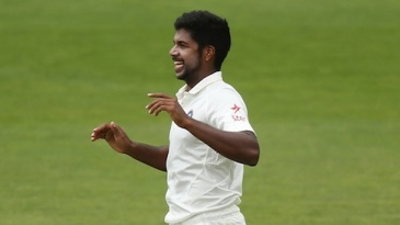 Varun Aaron struck early in India's warm-up game