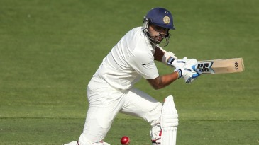 M Vijay was 32 not out at stumps