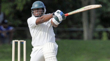 Shacaya Thomas scored 59, the only half-century of the game