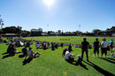A general view of the North Sydney Oval, CA XI v South Africans, North Sydney Oval, November 2, 2014