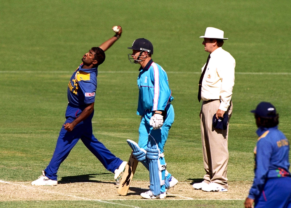 Collateral damage: umpires who call bowlers, like Ross Emerson did Murali, have been scathed to varying degrees