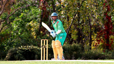 Mohammad Ashraful bats in a club game in Idlewild Park, Queens, New York