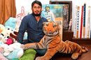 Mohammad Ashraful in his Banasree home, Dhaka