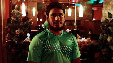 Mohammad Ashraful in his restaurant, Sichuan