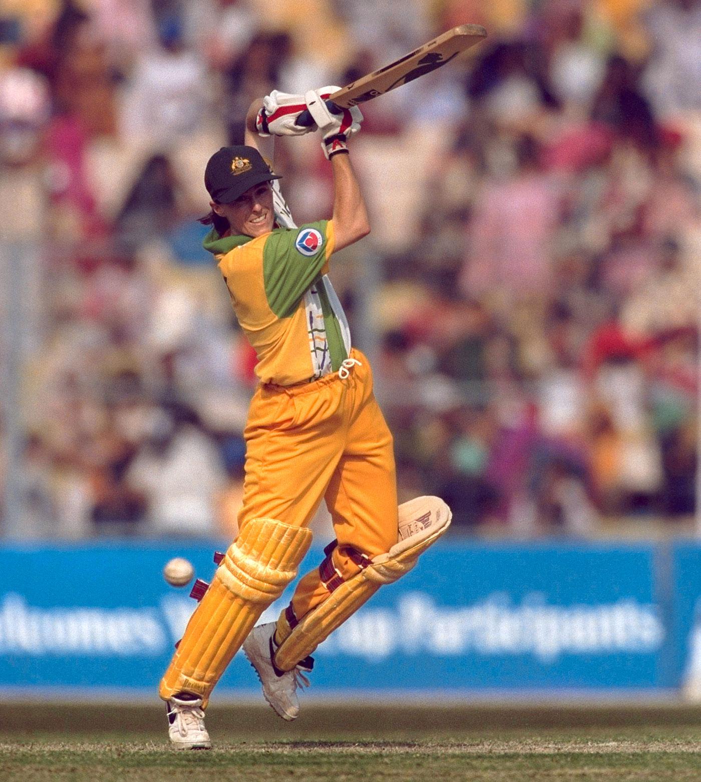 Belinda Clark scored 52 in the final, Australia v New Zealand, women's World Cup final, Calcutta, December 29, 1997