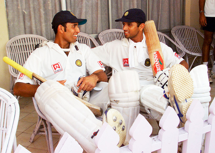 The Australia hands: Laxman and Dravid will forever be known for two wins against Waugh's team - Kolkata 2001 and Adelaide 2003