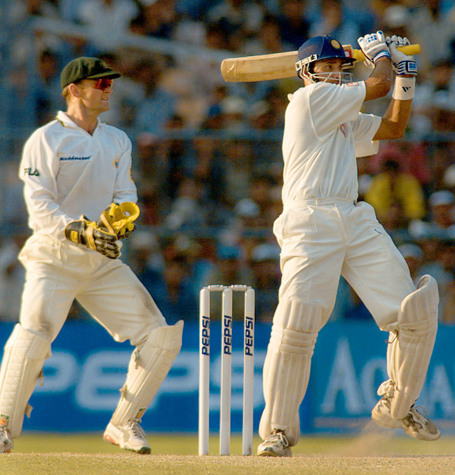 The art of the impossible angle: Laxman fetches another from outside off in Kolkata