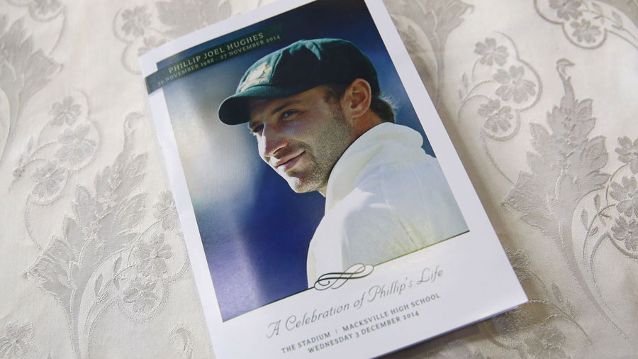 The order of service ahead of Phillip Hughes' funeral