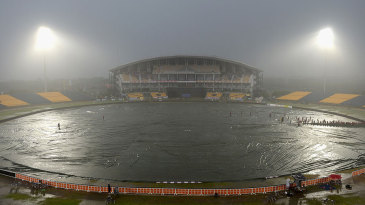 The rain soon closed in on the third ODI