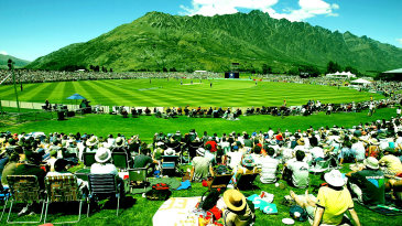 Spectators enjoy a day out in Queenstown