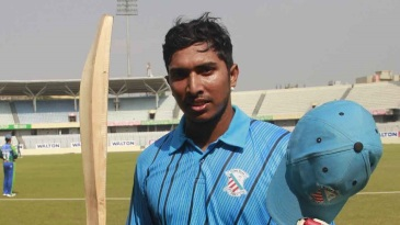 Soumya Sarkar made 127 off 147 balls