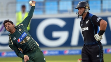 Haris Sohail was economical in his 10 overs of part-time spin