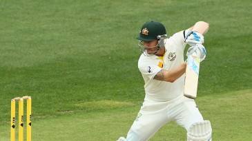 Michael Clarke resumed his innings on 60 not out