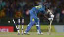Ajantha Mendis' stumps were dislodged by Chris Woakes, Sri Lanka v England, 5th ODI, Pallekele, December 10, 2014