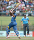 Seekkuge Prasanna hit some powerful blows, Sri Lanka v England, 6th ODI, Pallekele, December 13, 2014
