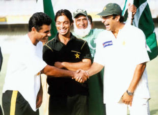 Wasim and Waqar: probably the deadliest old-ball partnership of all time
